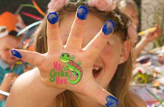 MyGeckoBox Kids Crafts and Activities