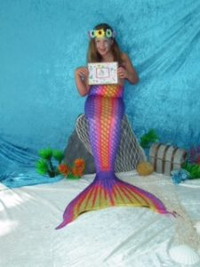 Mermaid tails and art shark attack