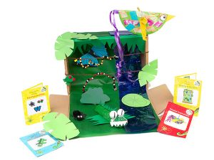 Rainforest Craft Box by MyGeckoBox