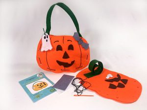 halloween sewing craft for kids