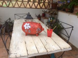 Painting a Pig