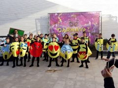 Emoji fancy dress costumes
