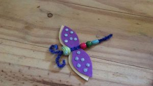 easy to make dragonfly for kids