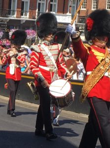Bearskin Soldiers London